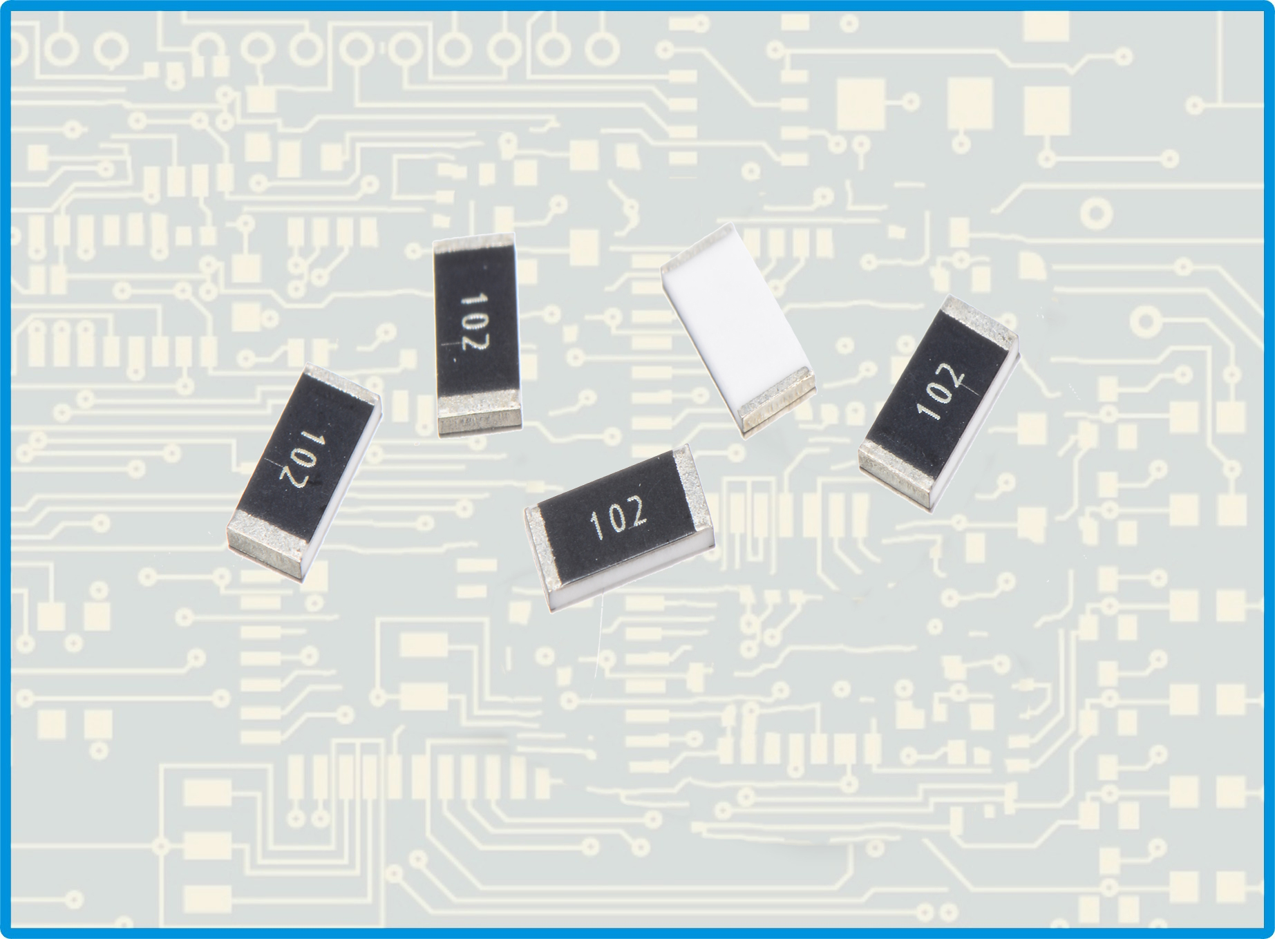 厚声贴片电阻0201