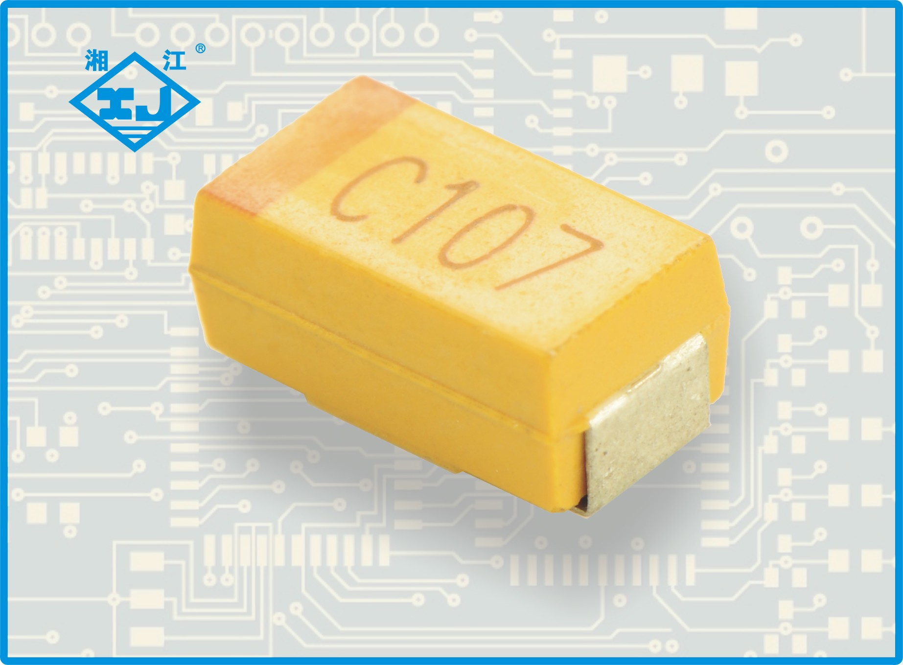 XJ贴片钽电容 100uf 16v C