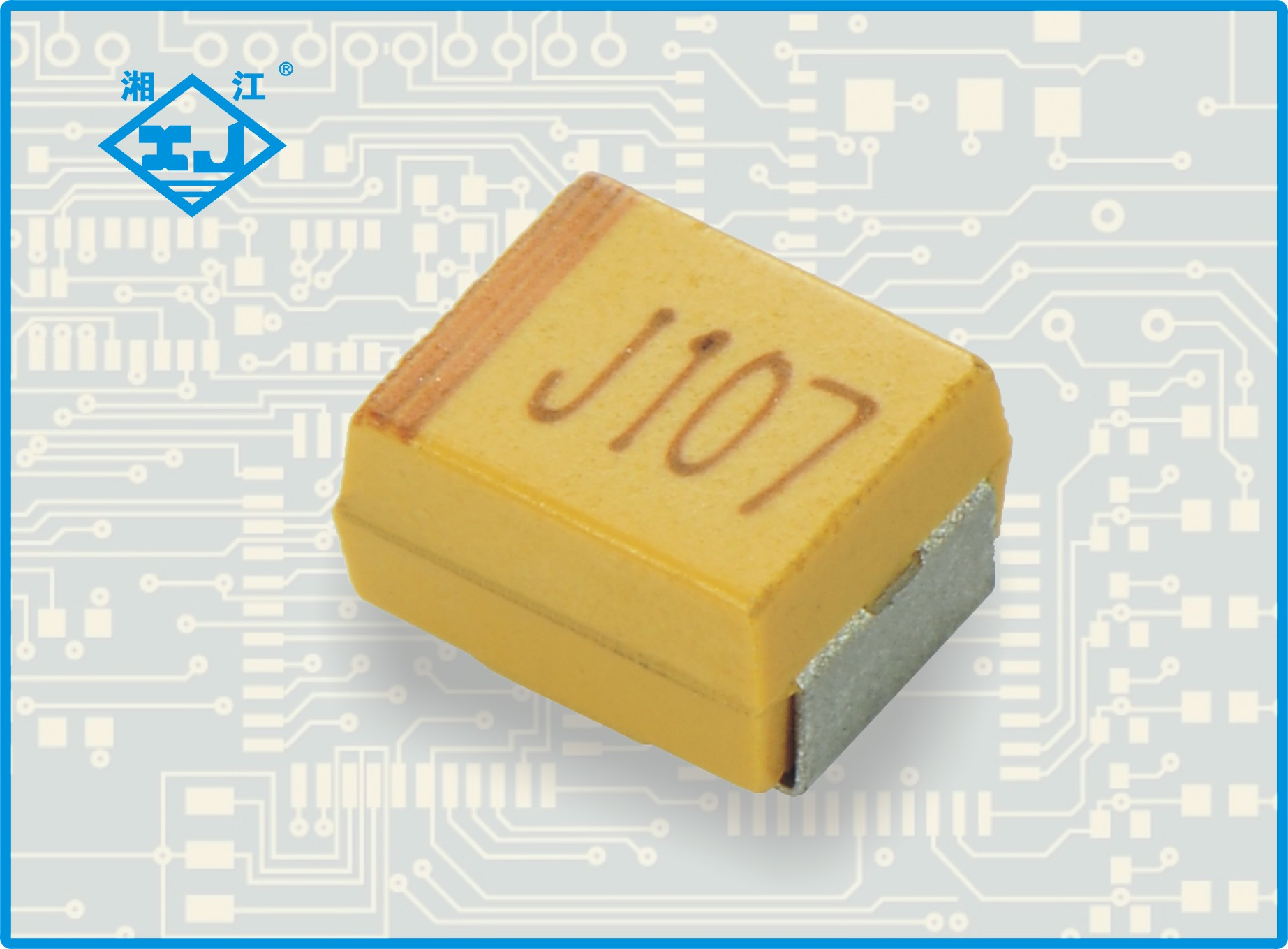 XJ贴片钽电容 100uf 6.3v B